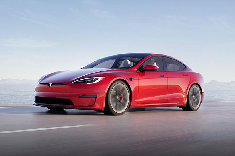 6. Tesla Model S Plaid Plus.