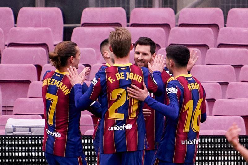 Barca không thể bảo toàn chiến thắng.