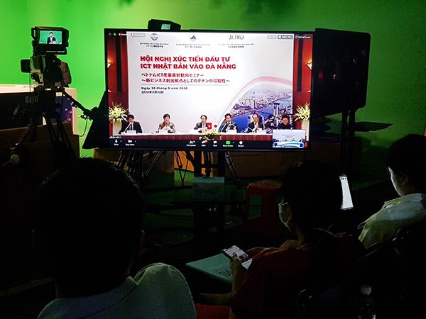 Ngày 30/9/2020, UBND TP Đà Nẵng phối hợp với Bộ TT-TT và Tổ chức Xúc tiến thương mại Nhật Bản (JETRO) đã tổ chức thành công hội nghị trực tuyến xúc tiến thu hút đầu tư Nhật Bản vào lĩnh vực ICT (CNTT, truyền thông) của Đà Nẵng
