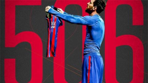 Messi lập hàng loạt cột mốc đáng nhớ trong trận hòa Cadiz