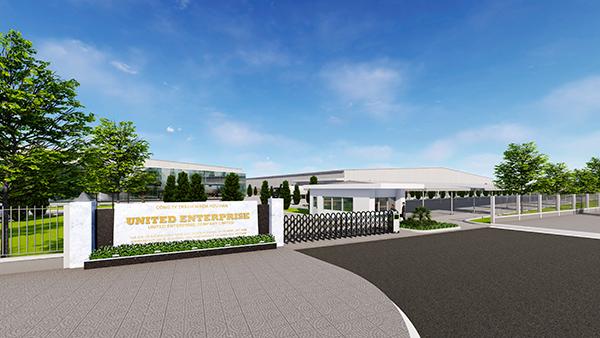Phối cảnh dự án Nhà máy sản xuất vật liệu bán dẫn United States Enterprise (Hoa Kỳ) sẽ được UBND TP Đà Nẵng trao Giấy chứng nhận đăng ký đầu tư vào Khu Công nghệ cao Đà Nẵng chiều 23/2/2021