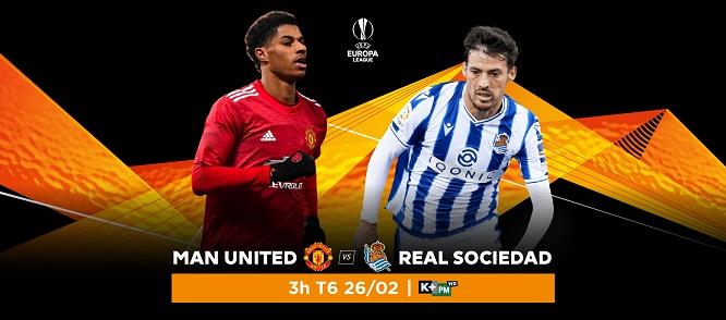 Trận đấu với Manchester United tới đây rõ ràng rất khó khăn với Real Sociedad.