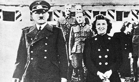 Ảnh sốc của người tình Hitler lần đầu được hé lộ
