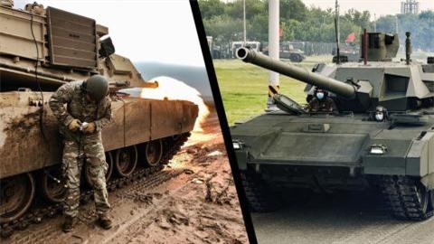 'My khac phuc diem yeu Abrams truoc khi nghi cach ha Armata'