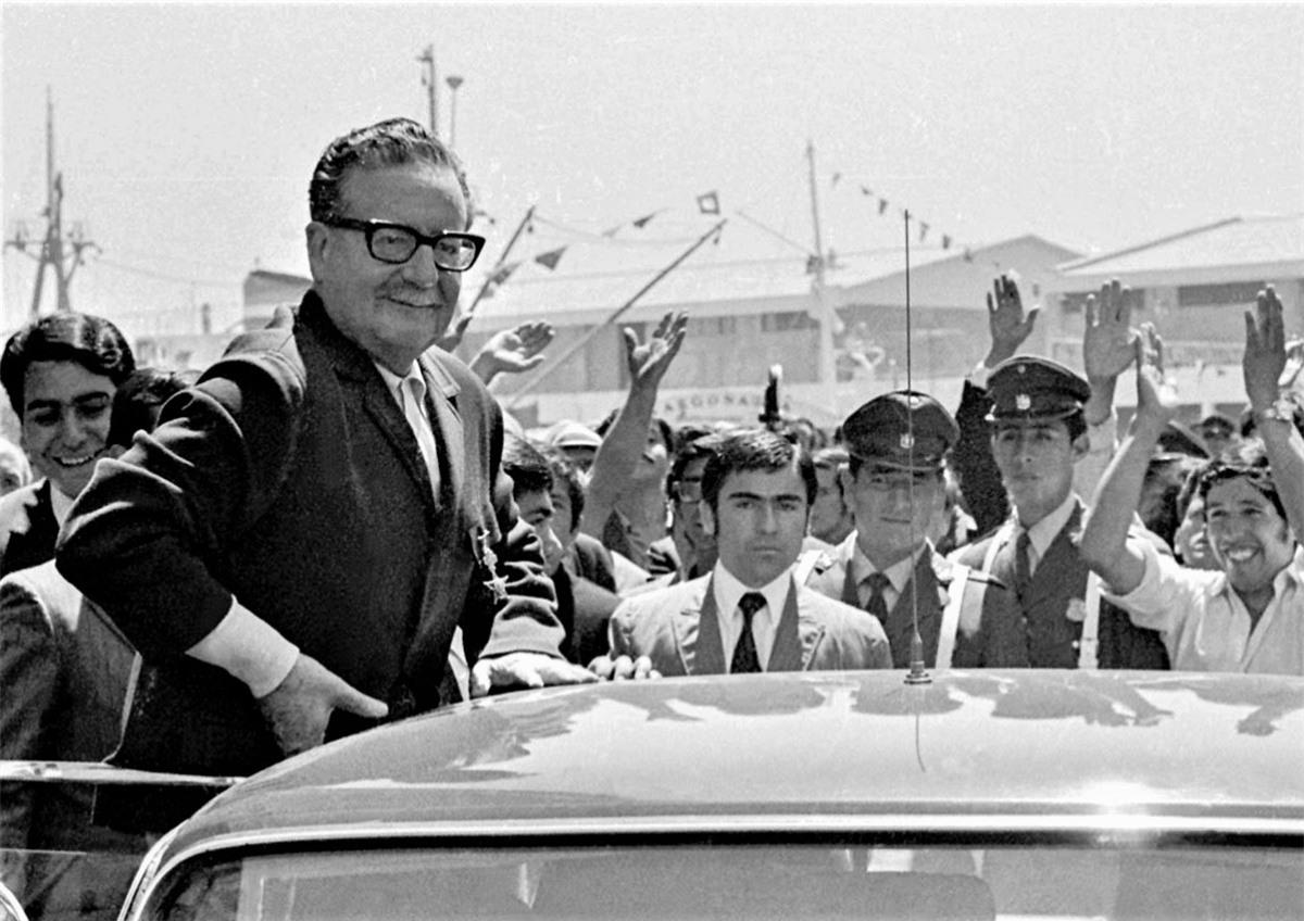 Tổng thống Chile Salvador Allende được bầu một cách dân chủ.Nguồn: RBTH