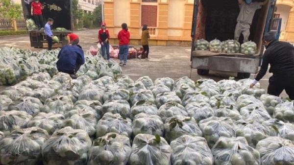 Vẫn còn hơn 90.000 tấn nông sản chưa tiêu thụ được tại Hải Dương.