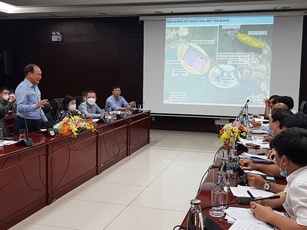 Thứ trưởng Nguyễn Nhật dẫn đầu đoàn công tác làm việc với UBND TP Đà Nẵng chiều 24/2