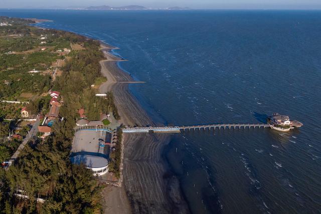 TP.HCM vừa phê duyệt nhiệm vụ quy hoạch chi tiết 1/500 các phân khu ở Khu đô thị lấn biển Cần Giờ.