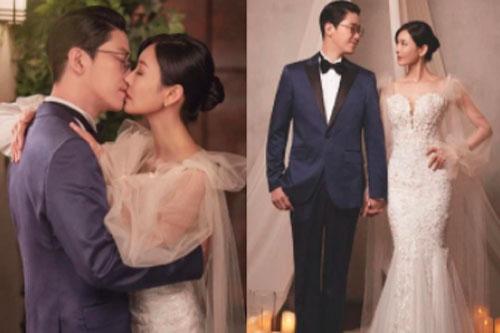 """Couple hot nhất Penthouse tung ảnh cưới: Không phải màn """"khóa môi"""", body tuyệt mỹ của """"ác nữ"""" Kim So Yeon mới là tâm điểm"""