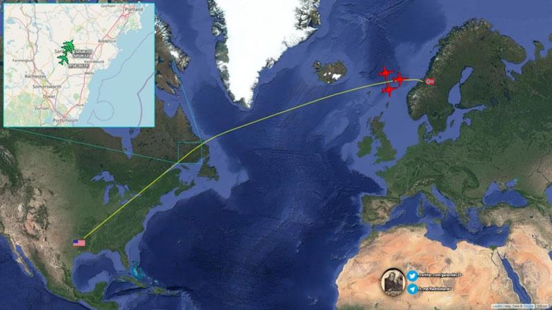 Mỹ triển khai tàu sân bay tên lửa chiến lược tới biên giới phía Bắc Nga
