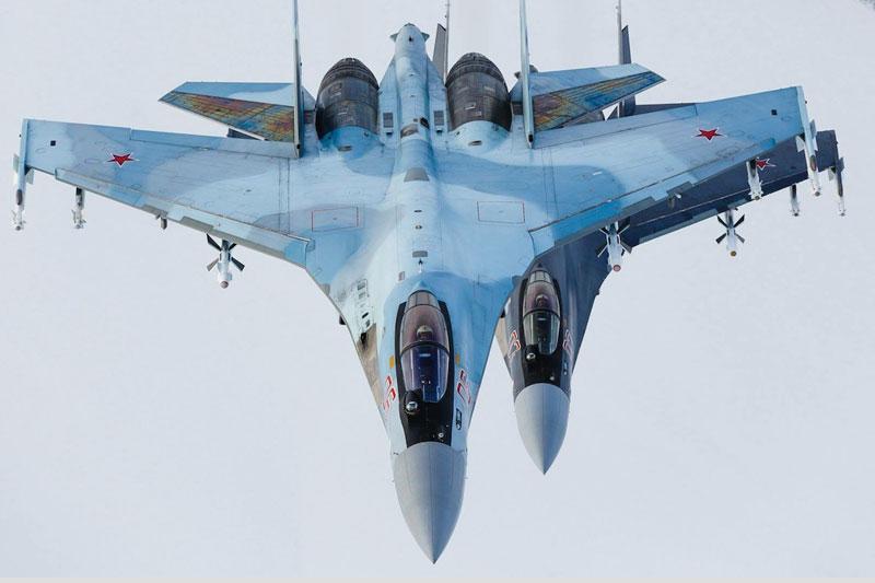 Tiêm kích đa năng Su-35 của Nga (Ảnh: Sputnik)