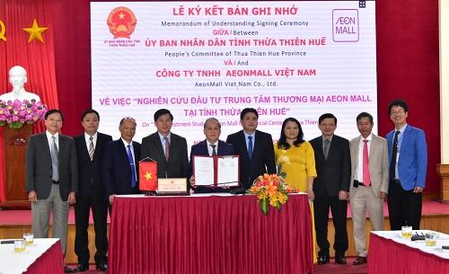 AEONMALL Việt Nam nghiên cứu đầu tư trung tâm thương mại 150 triệu USD tại Huế