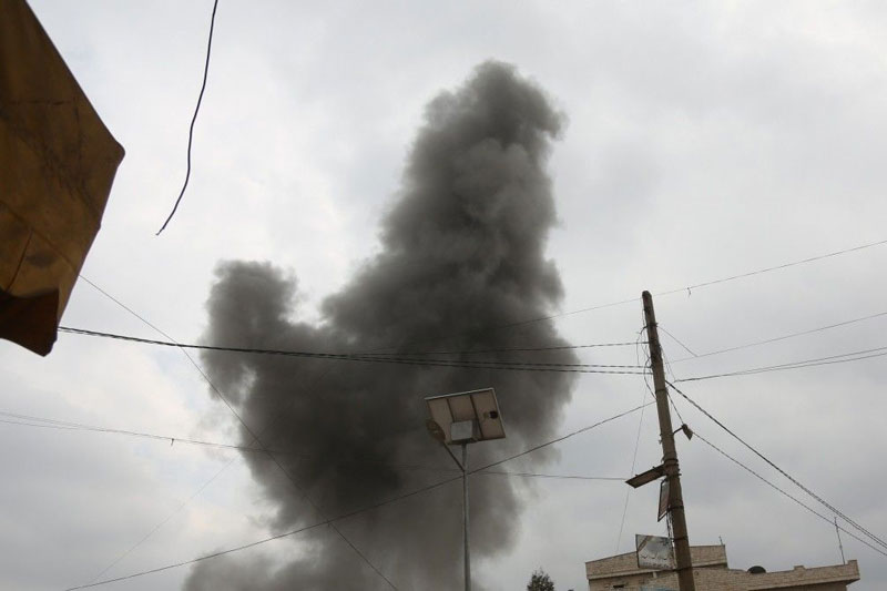 Trước đòn tấn công mạnh của khủng bố, quân đội Nga ở Syria buộc phải sơ tán khẩn cấp