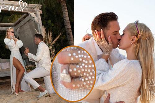Sinh nhật tuổi 40, 'tiểu thư Hollywood' Paris Hilton được cầu hôn bằng nhẫn kim cương khổng lồ