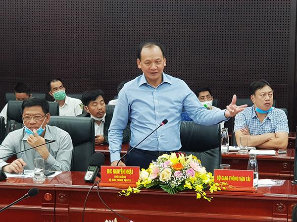 """Thứ trưởng Bộ GTVT Nguyễn Nhật khuyến cáo TP Đà Nẵng không nên làm cho cảng Liên Chiểu trở nên lắt nhắt, đừng """"phân lô bán nền"""" ở đây!"""