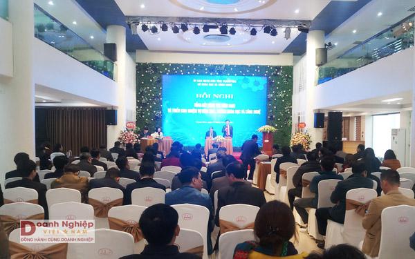 Hội nghị Tổng kết công tác năm 2020 và triển khai nhiệm vụ năm 2021 của Sở KH&CN Thanh Hóa.