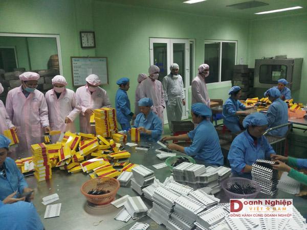 Sản xuất thuốc tân dược tại doanh nghiệp KH&CN Công ty CP Dược – VTYT Thanh Hóa