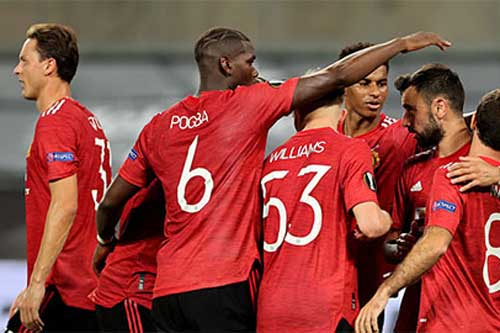 MU là 1 trong 2 đội được đánh giá cao nhất sau lễ bốc thăm vòng 1/8 Europa League