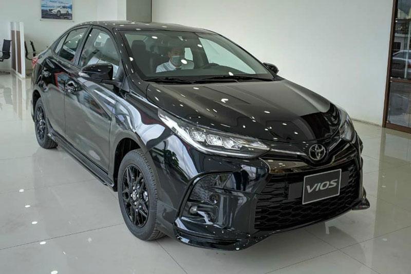 Toyota Vios GR-S 2021. Ảnh: Toyota Thanh Xuân.