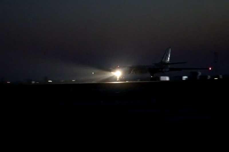 Đã mắt xem 'Quái vật' ném bom Tu-95MS của Nga xuất kích, làm nhiệm vụ trong đêm