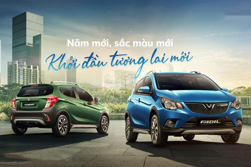 VinFast Fadil có thêm 2 màu sơn mới, tăng sức cạnh tranh với Hyundai Grand i10, Kia Morning