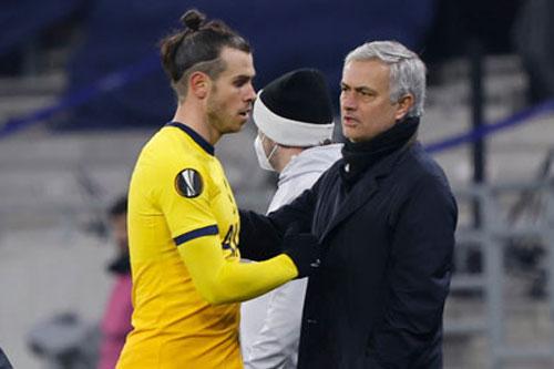 Mourinho khẳng định Bale đang 'cực kỳ hạnh phúc' ở Tottenham