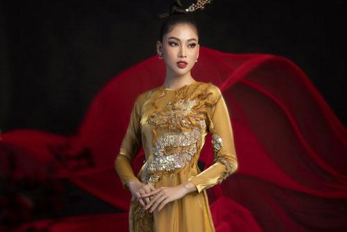 Hé lộ trang phục dân tộc của Á hậu Ngọc Thảo đem đến Miss Grand International 2020