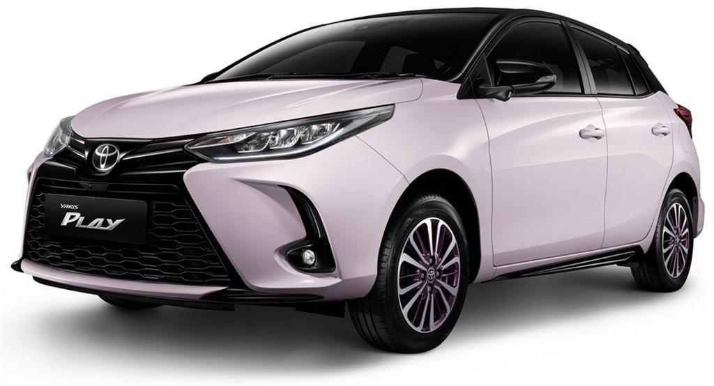 Toyota Yaris ban dac biet duoc ra mat tai Thai Lan anh 1