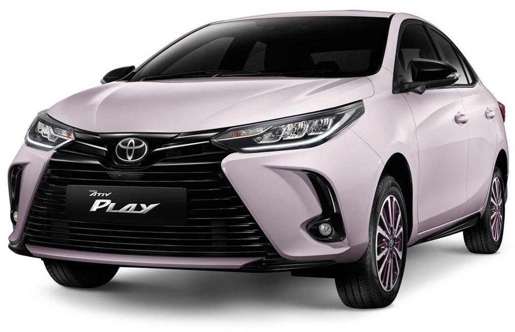 Toyota Yaris ban dac biet duoc ra mat tai Thai Lan anh 9