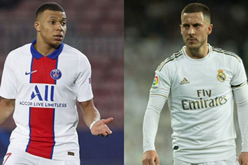 Mbappe sẽ là dấu chấm hết cho sự nghiệp của Hazard tại Real