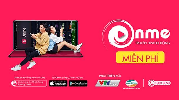 Onme là ứng dụng do VTVcab và Viettel hợp tác phát triển.