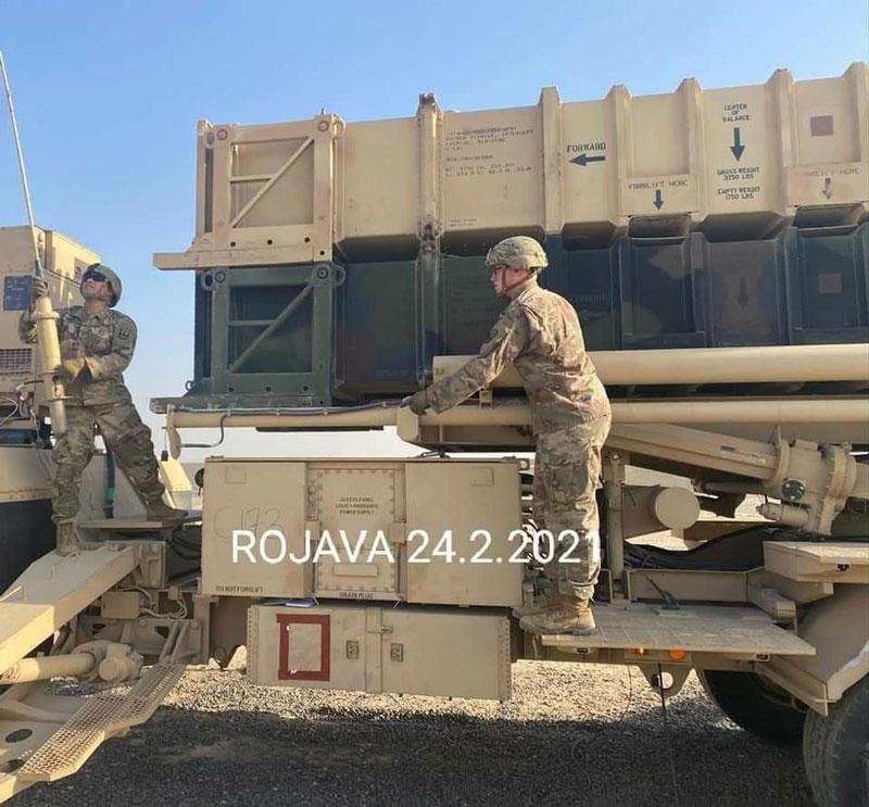 quân đội Mỹ bắt đầu tích cực triển khai các hệ thống phòng không tầm ngắn và tầm trung ở Syria