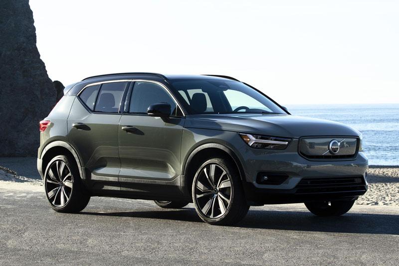 =3. Volvo XC40 2021 (giá khởi điểm: 33.700 USD, điểm an toàn: 9,9/10).