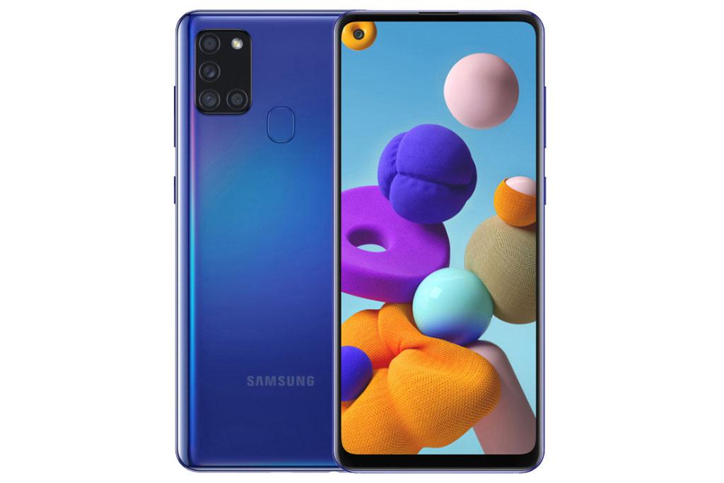 5. Samsung Galaxy A21s (doanh số: 19,4 triệu chiếc).