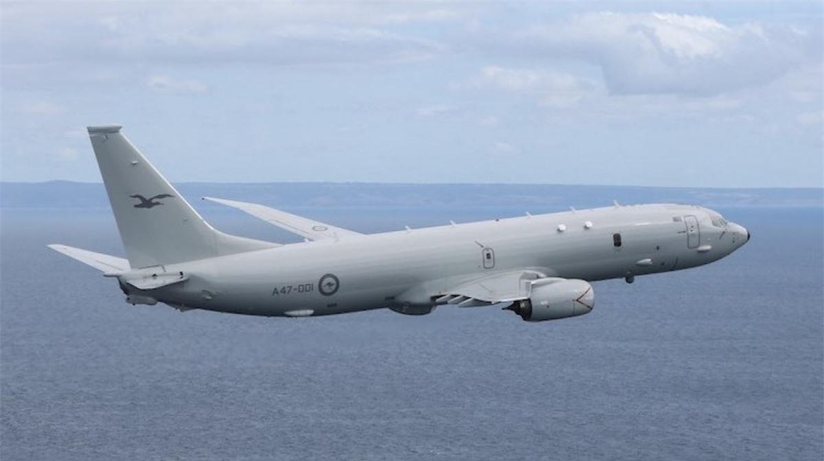 Máy bay tuần tra săn ngầm Boeing P-8 Poseidon. Ảnh: aofs.org