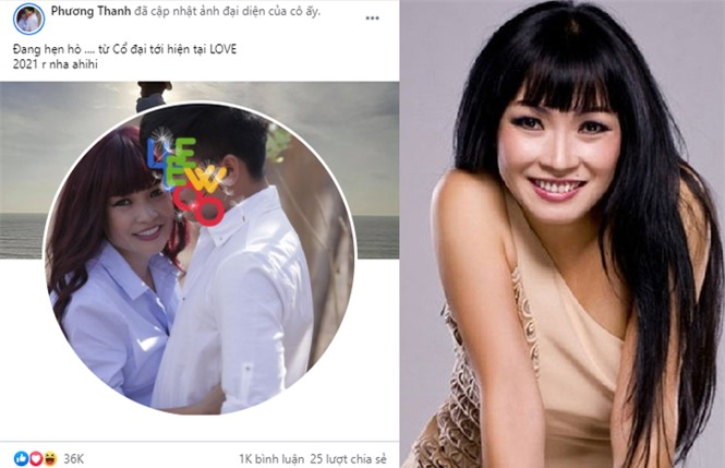 Phương Thanh phản bác thông tin người yêu kém 21 tuổi - ảnh 1