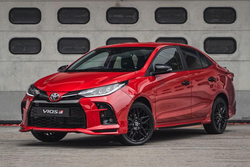 Toyota Vios GR-S 2021.