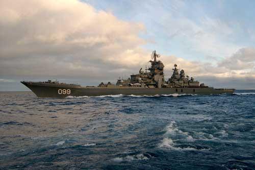 """CLIP: Sức mạnh """"bất diệt"""" tàu tuần dương lớn nhất thế giới của Nga"""