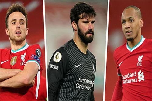 Liverpool có 3 hảo thủ trở lại 'tiếp sức' ở đại chiến với Chelsea