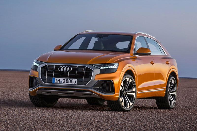 Bảng giá xe Audi tháng 3/2021