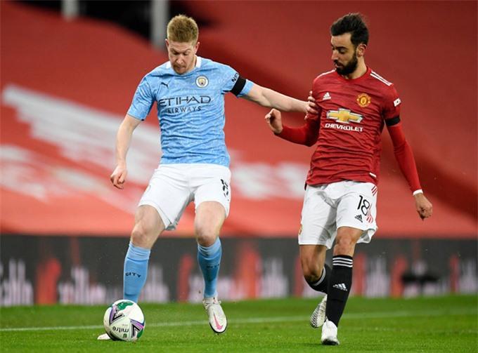 Man City có thể vô địch vào ngày 1/4 sau khi thắng MU trến sân nhà