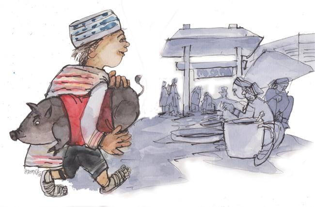 Lợn cắp nách còn được gọi là lợn Mường Sa Pa, lợn lửng, lợn còi, lợn ri, là giống lợn đặc sản của vùng cao và xuất hiện nhiều nhất ở Lai Châu.