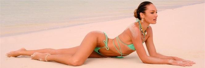 Sắc vóc nóng bỏng rực lửa của siêu mẫu Nam Phi Candice Swanepoel  - ảnh 1