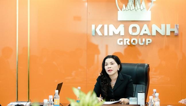 Bà Đặng Thị Kim Oanh, Chủ tịch HĐQT Kim Oanh Group khẳng định, Kim Oanh Group sẵn sàng cho hành trình bứt phá năm 2021