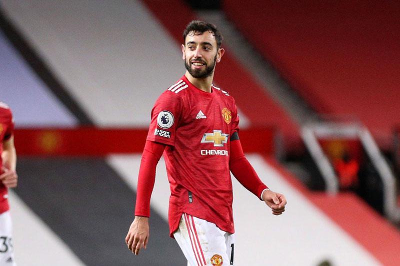 Vua phá lưới Ngoại hạng Anh 2020/21: Bruno Fernandes bám đuổi Salah