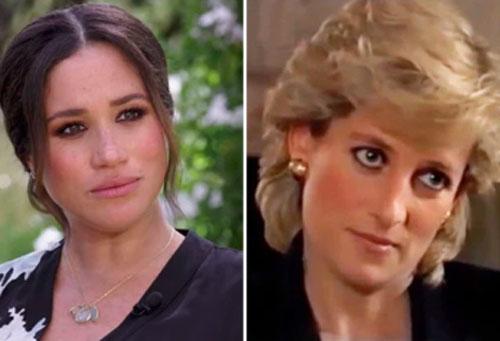 """Meghan Markle """"sao chép"""" y hệt Công nương Diana trong cuộc phỏng vấn mới nhưng phải muối mặt khi bị chê tơi bời"""
