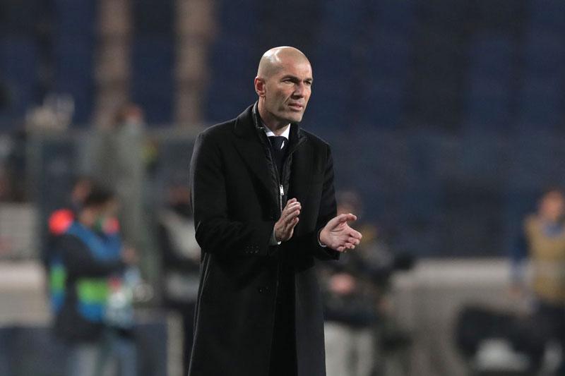 Hòa Sociedad, HLV Zidane thừa nhận sai lầm chiến thuật