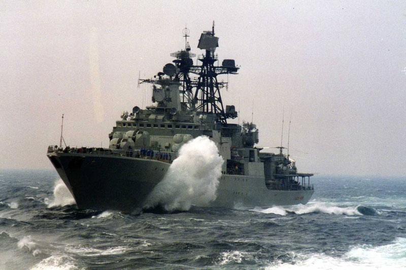 Tàu ngầm Mỹ cố đánh chìm tàu chiến Nga ngoài khơi Syria