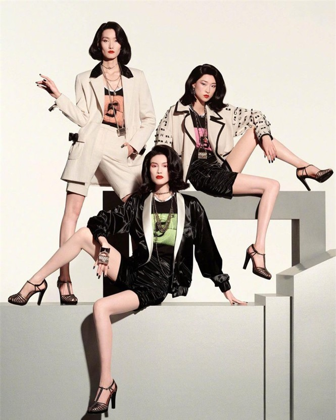 Người mẫu nội y gốc Hoa da trắng eo thon dáng nuột nà - ảnh 10