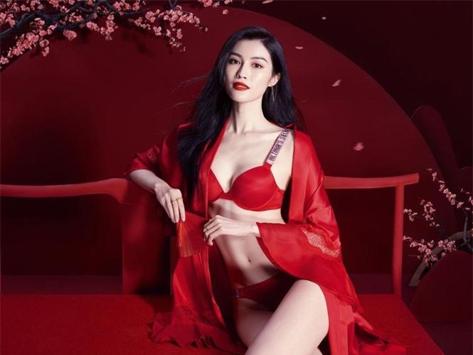 Người mẫu nội y gốc Hoa da trắng eo thon dáng nuột nà - ảnh 3